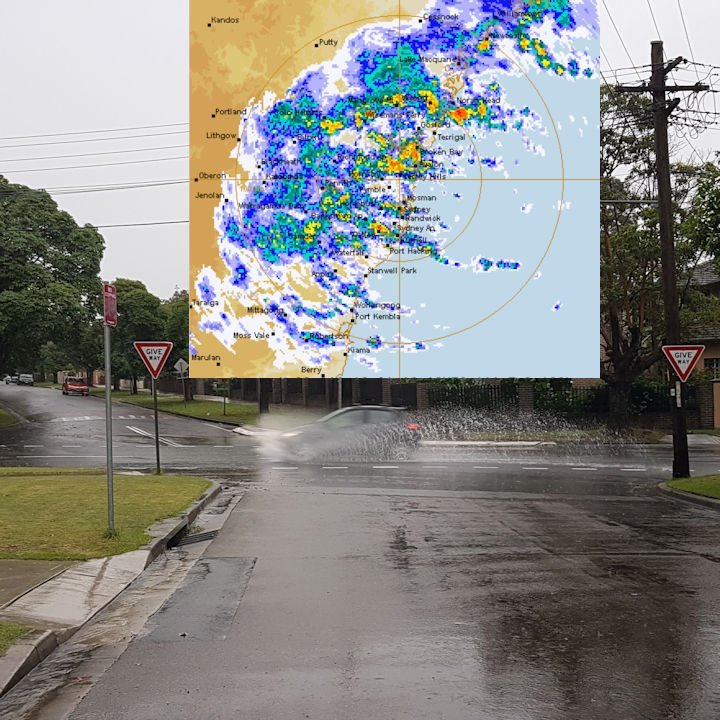 This sort of weather is expected over the next few days in Sydney