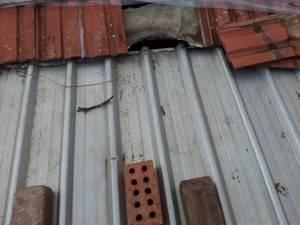 Skillion roof problems