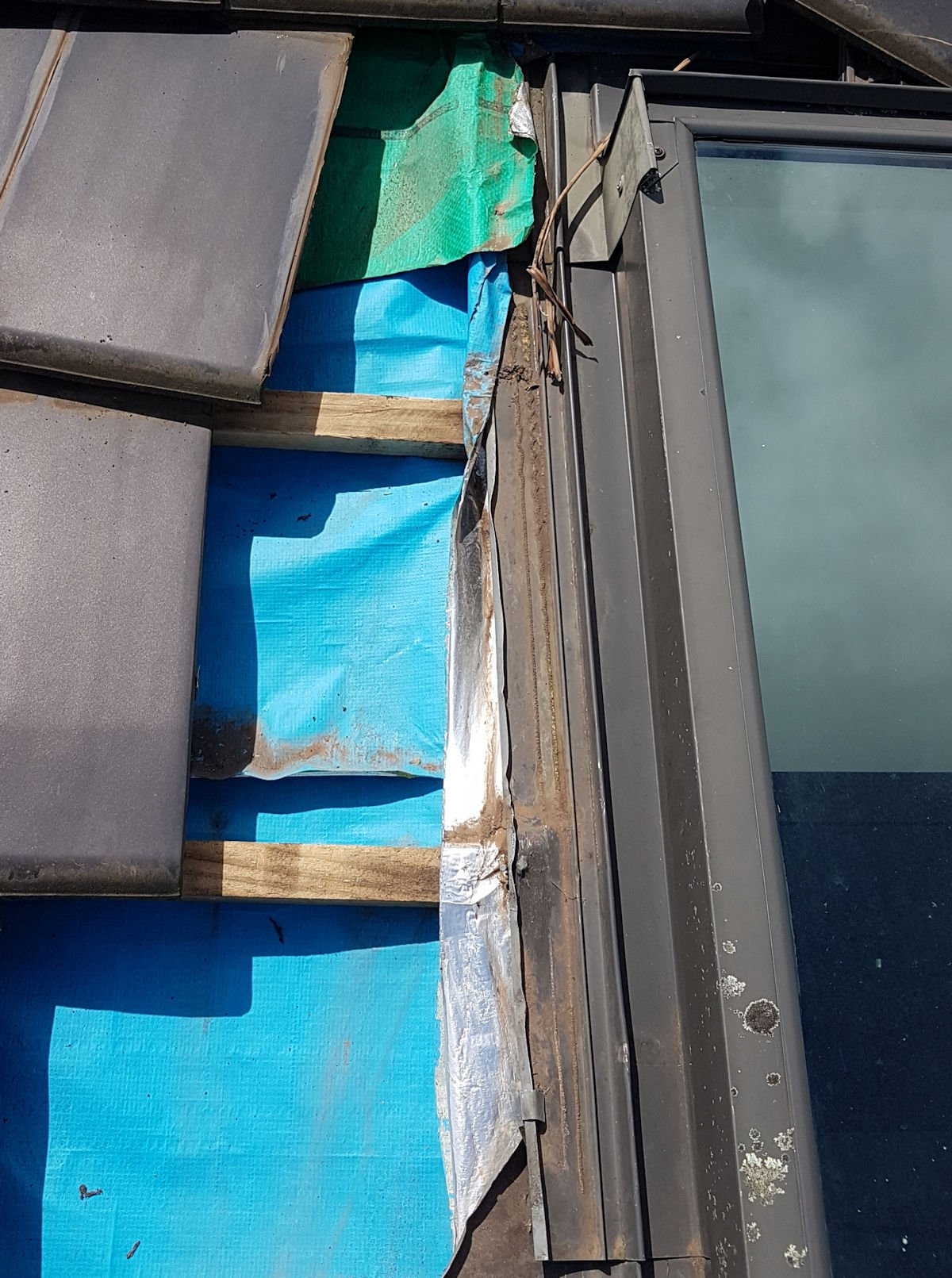 leaking Velux skylight