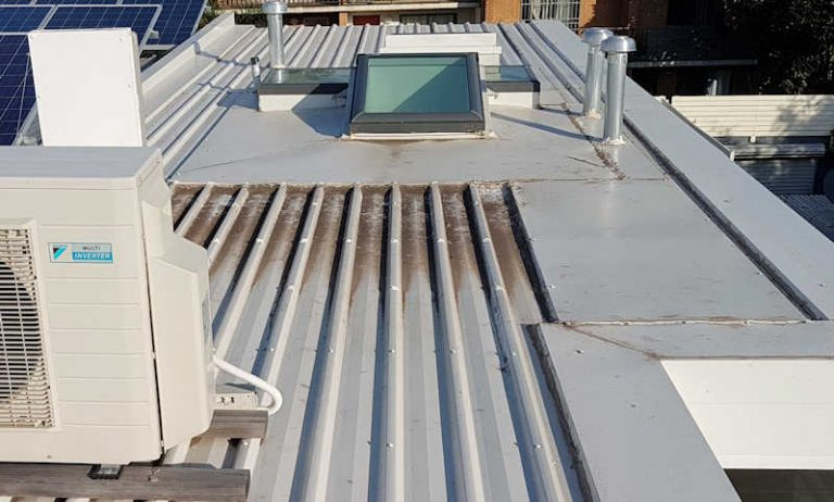 metal roof repairs or replacement