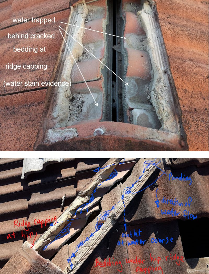 weep holes for tile roof